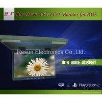 15.4 inch Car Roof Mount TFT LCD Monitor thumbnail image