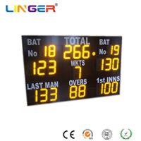 Electronic Portable Digital Cricket Scoreboard