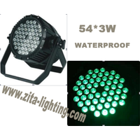 54X3W waterproof led par light