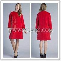High Quality Women clothing Fashion Winter Wool Coat Wholesale
