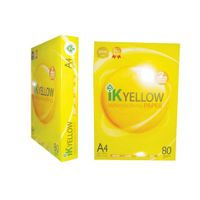 IK Yellow A4 Copy Paper 80gsm,75gsm,70gsm