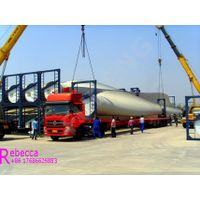 Extendable lowboy trailer used transport wind blade trailer flatbed trailer thumbnail image