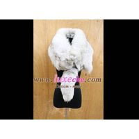 sell whole america & euro mink scarf 100% handwork ,custom made coat products