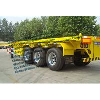 20 Feet 3 Axles Container Skeleton Semitrailer