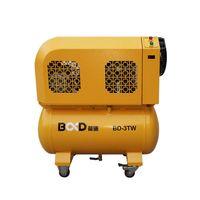 Portable scroll air compressor