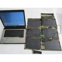 30W Folding Solar Charger for laptop, tablet