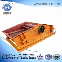Big Capacity Rock Linear Vibrating Screen For Chemical Industry