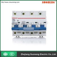 Good quality IEC60898 80A 100A 4 pole circuit breaker