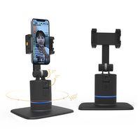 360 rotation smart gimbal stabilizer Auto tracking vlog shoot phone holder stabilizer