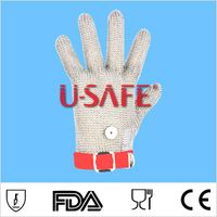 Sell meating cutting 304Lstainless steel safety glove wire mesh glove working glove thumbnail image