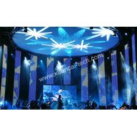 Soft screen stage LED display Pixel 50mm