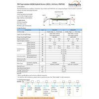 PM Tap+Isolator+WDM Hybrid Device (9815, 1415nm, PMTIW)
