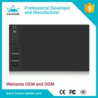 2016 Newest! Huion giano WH1409 14 * 9 inches largest wireless graphic drawing tablet