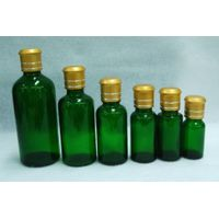 Selling green glass bottle with aluminum cap thumbnail image