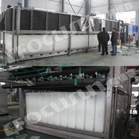 5.0 Tons Daily CE Approved Direct Block Ice Making Machine