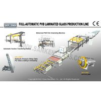 Bulletproof Glass Production Line Safety Glass Production
