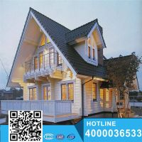 Professional manufacture/supplier prefabricated villa thumbnail image