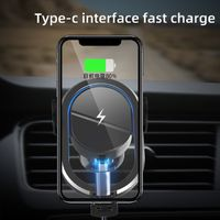 factory smart 15w max Wireless Car Phone Holder Charger thumbnail image