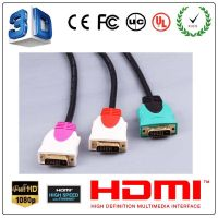 High definition DVI cable