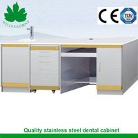 SSC-02 stainless steel pharmacy dental clinic cabinet