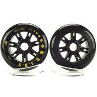 Rasha Speed Skating Wheels 120mm Hardness 85A 120 Wheels Mostly 172g High Quality for Racing Scooter thumbnail image