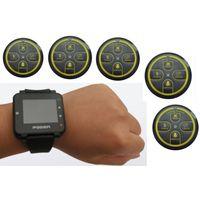 Pocsag paging system, multi keys wireless transmitter, alpha watch receiver