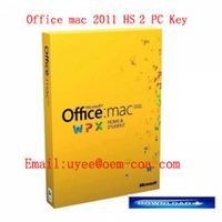 Office MAC 2011 Home and Student 2 User Key