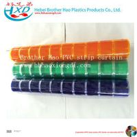 Colorful Folding Transparent 2mm Thinckness PVC Strip Curtain Rolls