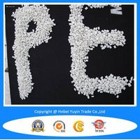 recycled Linear low density polyethylene plastic pellets