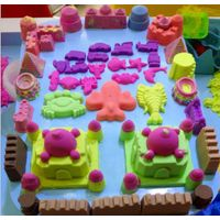 2.5KG Kid's popular non-toxic safe colorful magic creative play sand thumbnail image