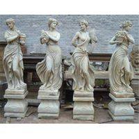 Antique marble statue