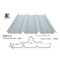 corrugated steel sheet roof sheet waterproof fireproof
