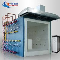Fireproof Valve Fire Test Furnace / Fire Resistance Test Furnace Fire Testing Solution