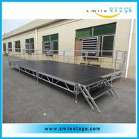 Portable Staging Aluminum Lighting Truss Stage for Concerts