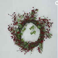 wholesale christmas garland christmas decoration red berry thumbnail image