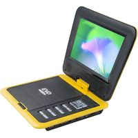 rotatable portable dvd player with tv tuner and radio
