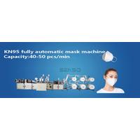 1 + 1 Automatic high speed servo mask machine,KF94 mask machine,KN95 mask machine thumbnail image
