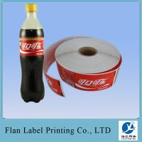 Beverages private label printing with high quality