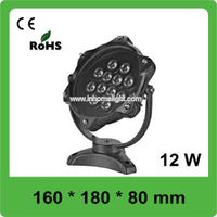 1320LM 12W 90 Degree RGB LED Underwater Lights For Swimming Pool