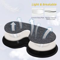 Adjustable washable 100% blocking light 3D memory foam sleep mask sleeping masks for men women kids thumbnail image