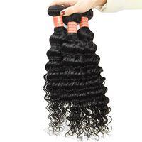 Brazilian Deep Wave Virgin Hair Extensions