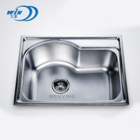WY-5843 topmount sink single bowl