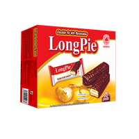 Longpie - Chocolate pie with marshmallow