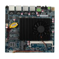 LAN-D525-4L - Network Security Board with 4*RJ-45 GLAN and Intel® Atom; D525 + Intel ICH8M