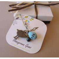 Custom printed jewelry hang tags thumbnail image