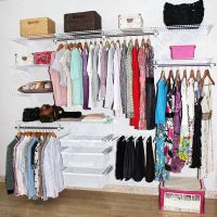 Ingenious wire closet shelving kits for all wardrobes