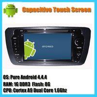 vw seat ibiza 2013 android 4.4 auto radio car dvd player gps navigation