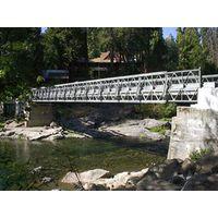 Steel Bailey bridge