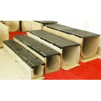 polymer concrete trench drain