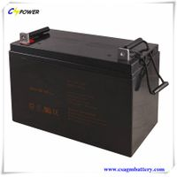 Competitive Price Rechargeable Battery 12V100ah Factory with 3years Warranty